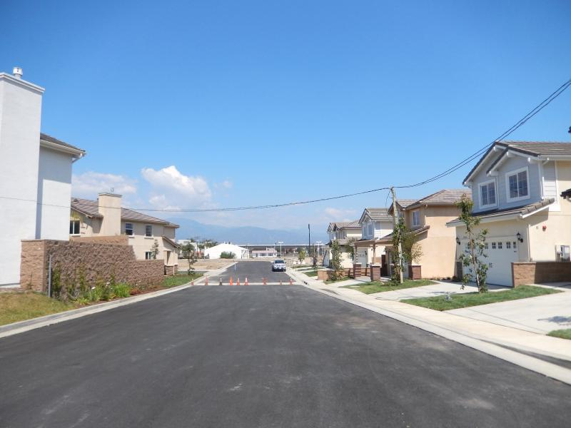 Mountain View Homes Streetscape